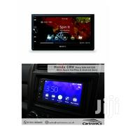 "6.4"" Double DIN Sony XAV-AX100 Radio With Apple Car Play Android Auto 