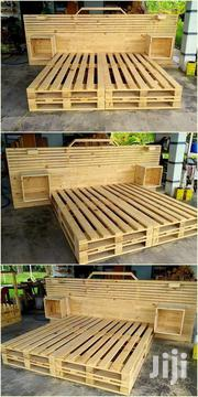 Stylish Modern Quality 5by6 Pallet Bed | Furniture for sale in Nairobi, Ngara