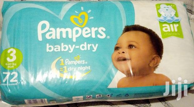Quick Sale Pampers Dry Diapers With Extra Absorb(6-10kgs)(72)Size3