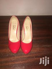 Red Patent Leather Platform Pumps | Shoes for sale in Nairobi, Roysambu