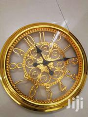 Amazing Design Golden Wall Clock | Home Accessories for sale in Mombasa, Tononoka