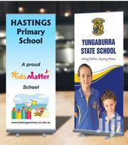 Roll Up Banner Printing Narrow Base Banner | Computer & IT Services for sale in Nairobi, Nairobi Central
