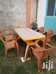 A Table And A Plastic Chairs | Furniture for sale in Nairobi, Embakasi