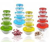 5 Pcs Glass Bowl Set for Fridge Storage | Kitchen & Dining for sale in Nairobi, Nairobi Central