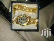 Silver And Gold Iced Watches, Bracelet And Rings. | Watches for sale in Nairobi, Nairobi Central
