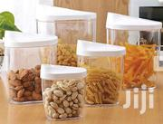 5 Pc Food Cereal Food Snack Container Storage Set With Easy Pour Lids | Kitchen & Dining for sale in Nairobi, Nairobi Central