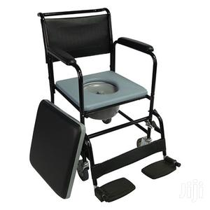 Commode Chair On Castors