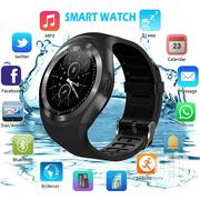 Y1S Waterproof Bluetooth Smart Watch Phone Mate For Android IOS Iphon | Smart Watches & Trackers for sale in Nairobi, Embakasi