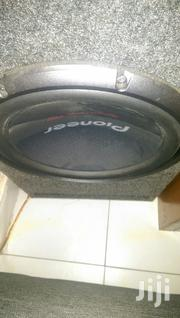 2000watts Pioneer TSW3003D4 Woofer In Slotted Box | Vehicle Parts & Accessories for sale in Mombasa, Tudor