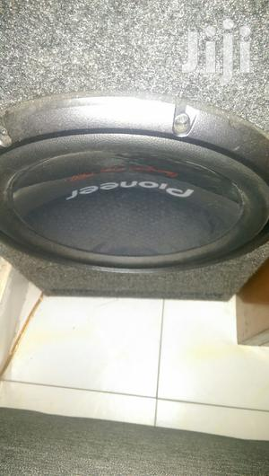 2000watts Pioneer TSW3003D4 Woofer In Slotted Box