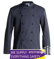 Black Chef Jackets With Detachable Buttons | Clothing for sale in Nairobi, Nairobi Central