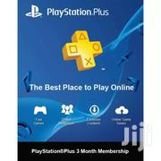 Play Station Plus 3months (UAE) | Video Games for sale in Nairobi, Nairobi Central