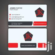 Business Card Design | Computer & IT Services for sale in Nairobi, Lindi