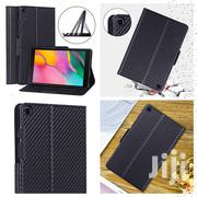 Samsung Galaxy Tab A 8.0 2019 Ultra-thin Carbon Fiber Flip Cover | Accessories for Mobile Phones & Tablets for sale in Mombasa, Mji Wa Kale/Makadara