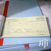 Executive Receipt Books Printing... Free Delivery For You. | Other Services for sale in Nairobi, Nairobi Central