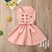 Khaki Girl Dress | Children's Clothing for sale in Mombasa, Shimanzi/Ganjoni