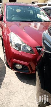 Subaru Outback 2012 Red   Cars for sale in Mombasa, Majengo