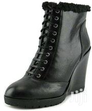 Jessica Simpson Fur Wedge Boots | Shoes for sale in Nairobi, Nairobi Central