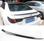 Rear Boot Lip Spoiler: For Toyota Mark X (GRX130/135)   Vehicle Parts & Accessories for sale in Nairobi, Nairobi Central