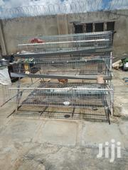 128 Bird Chicken Battery Cage Wire Cage With Feed Troughs Used | Farm Machinery & Equipment for sale in Nairobi, Nairobi South