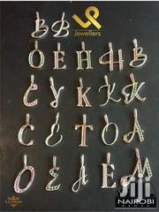 Sterling Silver Alphabets Letter Pendants | Jewelry for sale in Nairobi, Nairobi Central