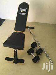 Adjustable Everlast Utility Weight Bench | Sports Equipment for sale in Nairobi, Kilimani