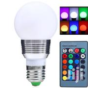 Dimmable 3W E27 LED RGB Magic Light Bulb.   Security & Surveillance for sale in Nairobi, Nairobi Central
