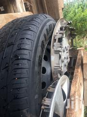 """4 Slightly Used 15"""" Tyres With Rims 