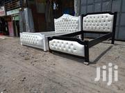 Ready Black and White 4*6 Bed | Furniture for sale in Kajiado, Ongata Rongai