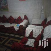 A Five Seater Sofa Set In Good Condition | Furniture for sale in Kiambu, Kikuyu