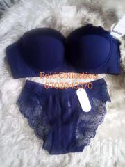Perfectvnavy Blue Bra Panty Set | Clothing for sale in Nairobi, Kasarani