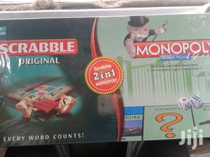 2 In 1 Scrabble And Monopoly Game