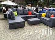 Corner Seat 8seater With Ottoman/6 Seater Corner+2 Seater | Furniture for sale in Nairobi, Ziwani/Kariokor