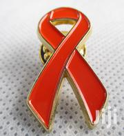 Red Ribbon Support Symbol Lapel Pin For HIV | Clothing Accessories for sale in Nairobi, Nairobi Central
