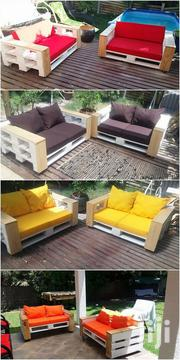 Unique Modern Quality 4 Seater Pallet Sofa | Furniture for sale in Nairobi, Ngara