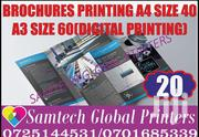 Brochures Printing Full Color Both Sided | Computer & IT Services for sale in Nairobi, Njiru