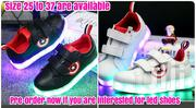 USB Charging Light Shoes For Girls And Boys Sports White & Black | Shoes for sale in Mombasa, Mji Wa Kale/Makadara