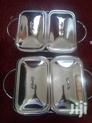 2pc Glass Chafing Dish With Buffet Warmer | Kitchen & Dining for sale in Nairobi, Kahawa