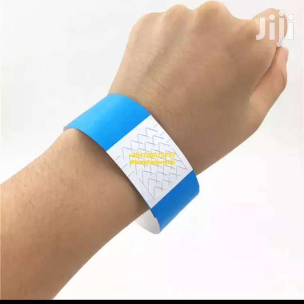 Tyvek Event Wristbands Event Tags Paper Wristbands