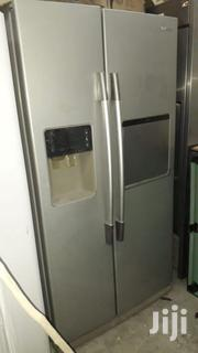 Imported Samsung Used Double Doors Fridge Available For Sale Mombasa | Kitchen Appliances for sale in Mombasa, Bamburi