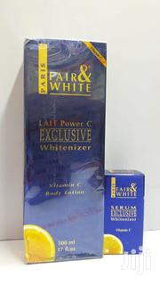 Fair & White Exclusive Whitenizer Lotion With Vitamin C + Serum | Skin Care for sale in Nairobi, Nairobi Central