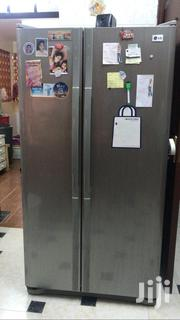 For Sale Second Hand But In Good Condition Lg Double Door Refrigerator   Kitchen Appliances for sale in Nakuru, Lanet/Umoja