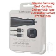 Geniune Samsung Dual Fast Charge Car Charger For S9 S9+ | Vehicle Parts & Accessories for sale in Mombasa, Mji Wa Kale/Makadara