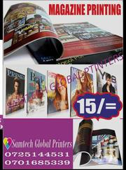Brochures Printing Fu Color | Computer & IT Services for sale in Nairobi, Njiru