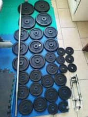 Gym Cast Iron Weights New | Sports Equipment for sale in Nairobi, Karura