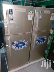 Super Cool Gold In Colour Double Doors Fridge With Warranty. Hot Cake | Kitchen Appliances for sale in Mombasa, Bamburi