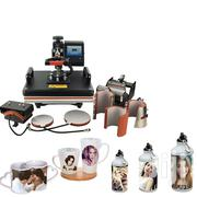 8 In 1 Combo Heat Press Machine Thermal Transfer Machine Sublimation | Printing Equipment for sale in Nairobi, Nairobi Central
