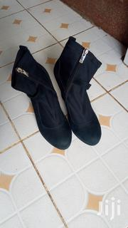 Second Hand Black Wedge Boots(Good Condition) | Shoes for sale in Nairobi, Mugumo-Ini (Langata)
