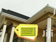 WHITE AND BROWN PVC GUTTERS ARE AVAILABLE | Furniture for sale in Kisii, Masimba