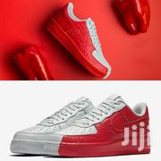 Nike Airforce 1 Split- Red & White | Shoes for sale in Nairobi, Nairobi Central